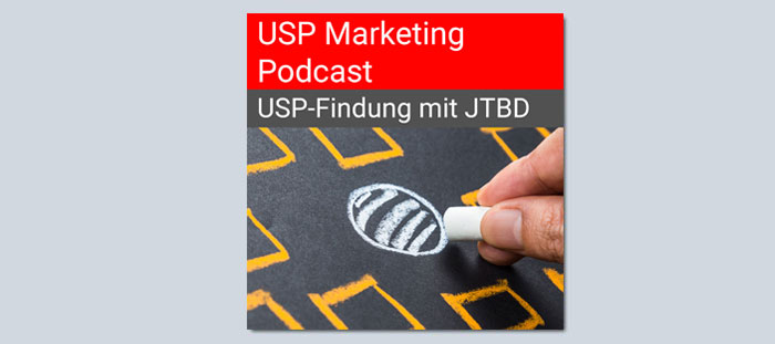 USP Marketing Podcast über Jobs To Be Done (Bild: Jürgen Kroder / Shutterstock)